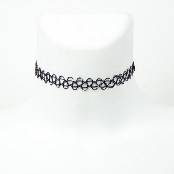 Klasický Tattoo Choker náhrdelník